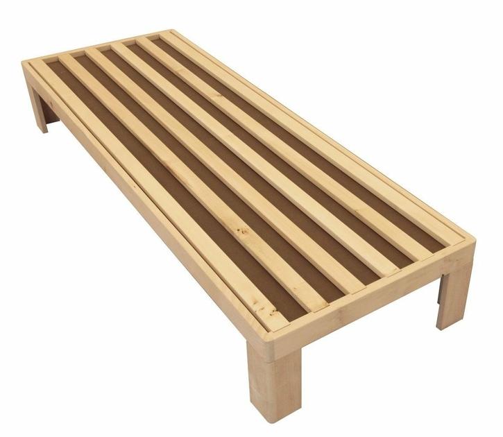 sommier en bois polaris longueur 190 cm. Black Bedroom Furniture Sets. Home Design Ideas
