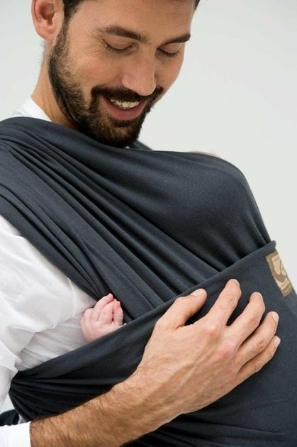 echarpe de portage tricot slen babylona anthracite