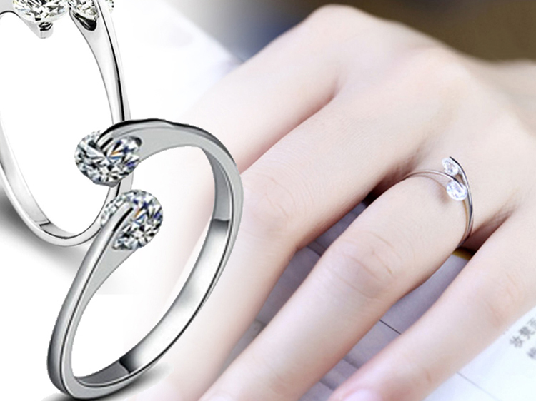 bague argent strass duo (2)