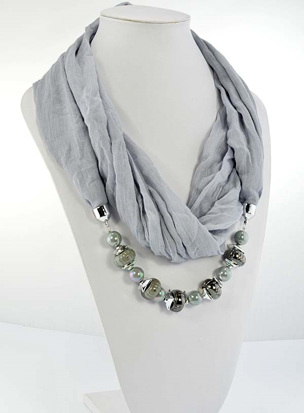 collier foulard fashion 65270