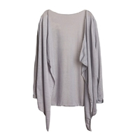 Femmes-d-t-Long-et-Mince-Cardigan-Modal-Sun-Protection-V-tements-Tops-camisetas-mujer-Cape