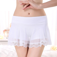Shorty jupe Dentelle Transparente sexy