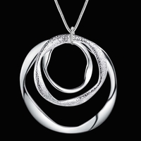 Collier Chaine pendendif rond (1)