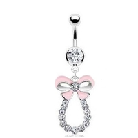 piercing nombril noeud strass blanc (2)