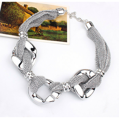 Collier maille argent (1)