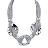 Collier maille argent
