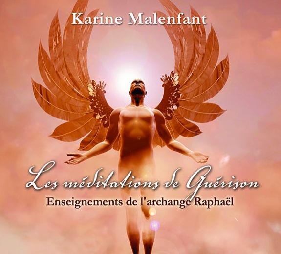 Les méditations de Guérison - Enseignements de l\'archange Raphaël - Livre audio