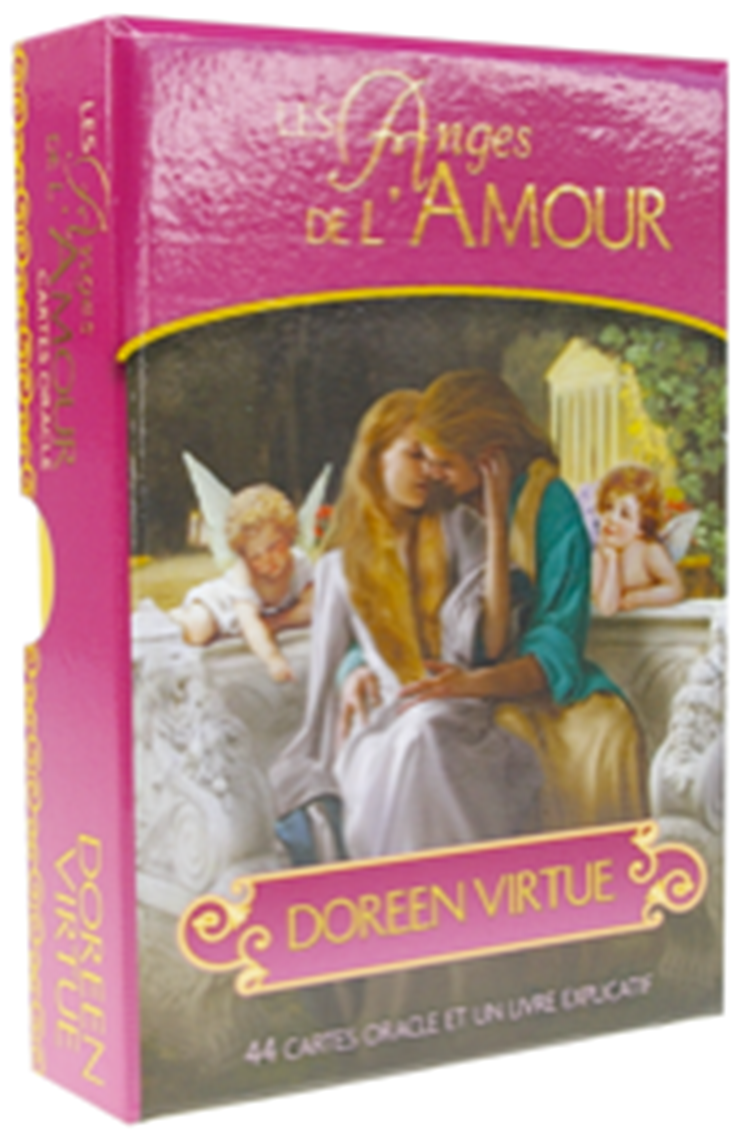 les anges de l 39 amour 44 cartes livret de doreen virtue librairie audio cartes oracles et. Black Bedroom Furniture Sets. Home Design Ideas