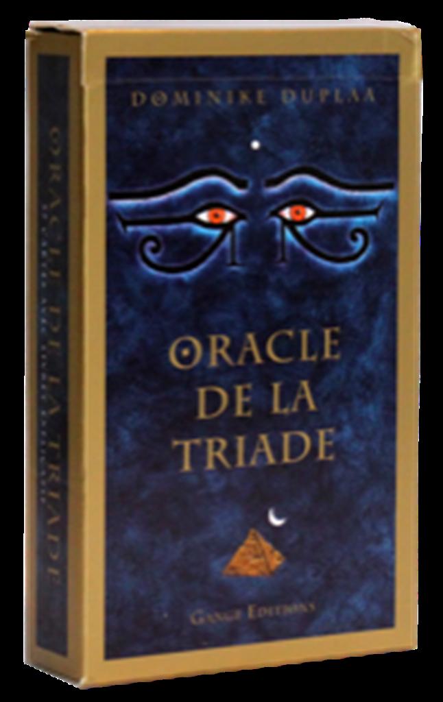 oracle de la triade librairie cartes oracles et tarot. Black Bedroom Furniture Sets. Home Design Ideas