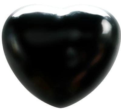 Coeur Shungite 45 mm - La pièce