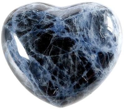 Coeur Sodalite 45 mm - La pièce