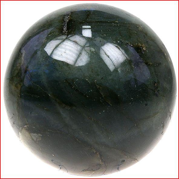 Sphère Labradorite 40 mm - La pièce