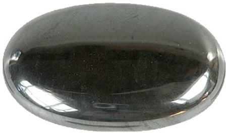 Galet Tourmaline noire ( 3,5 x 4 cm )