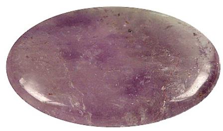 Galet Améthyste ( 3,5 x 4 cm )