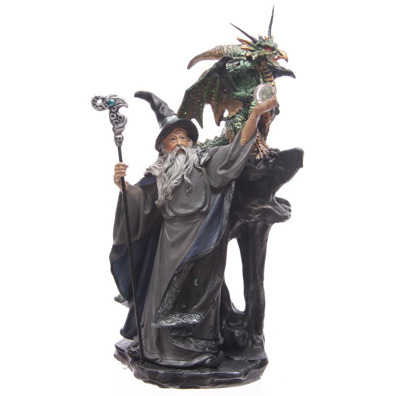 Magicien Au Dragon