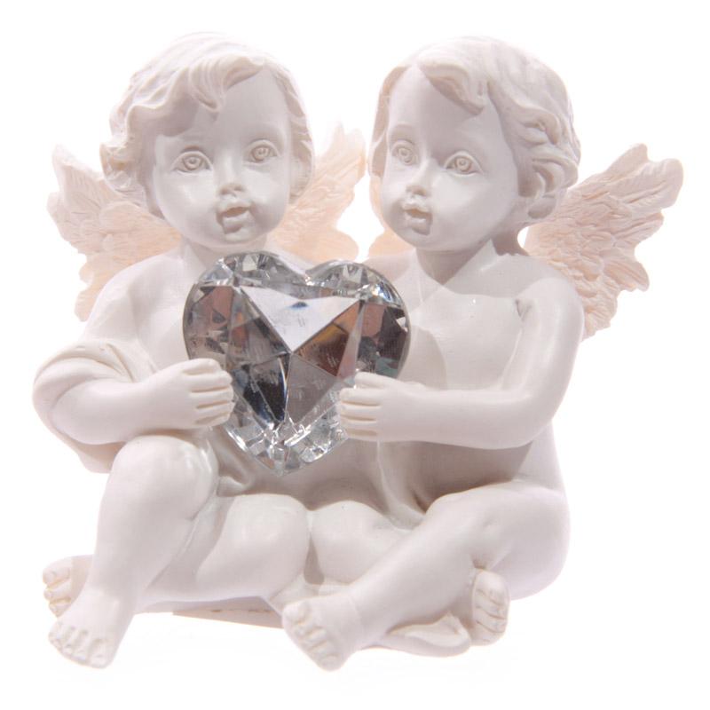 Couple Chérubin Coeur Modèle B