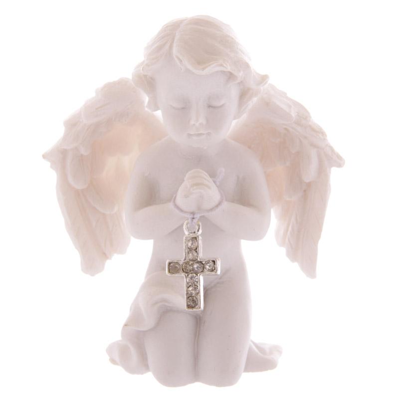 Ange Priant avec une Croix (B)