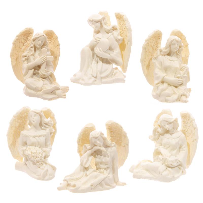 Figurine le Monde des Anges 4 - 5cm  (lot de 6)