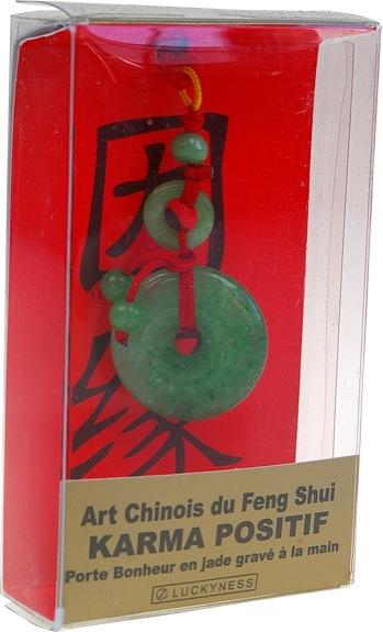 Porte-bonheur Feng-shui - Karma positif