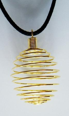 Spirale dorée grand modèle