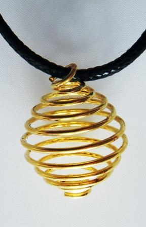 Spirale dorée moyen modèle