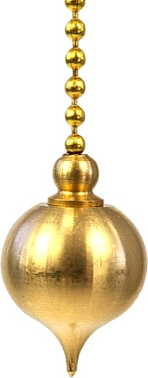 Pendule Aquarius, laiton avec témoin - 17 gr