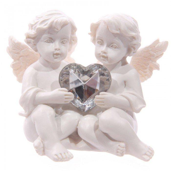 Couple Chérubin Coeur Modèle C