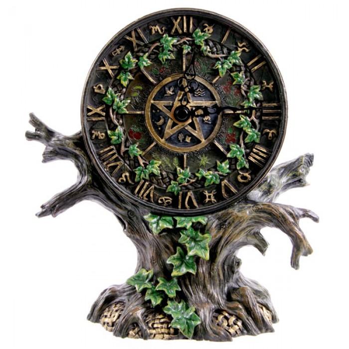 Horloge arbre à astrologie