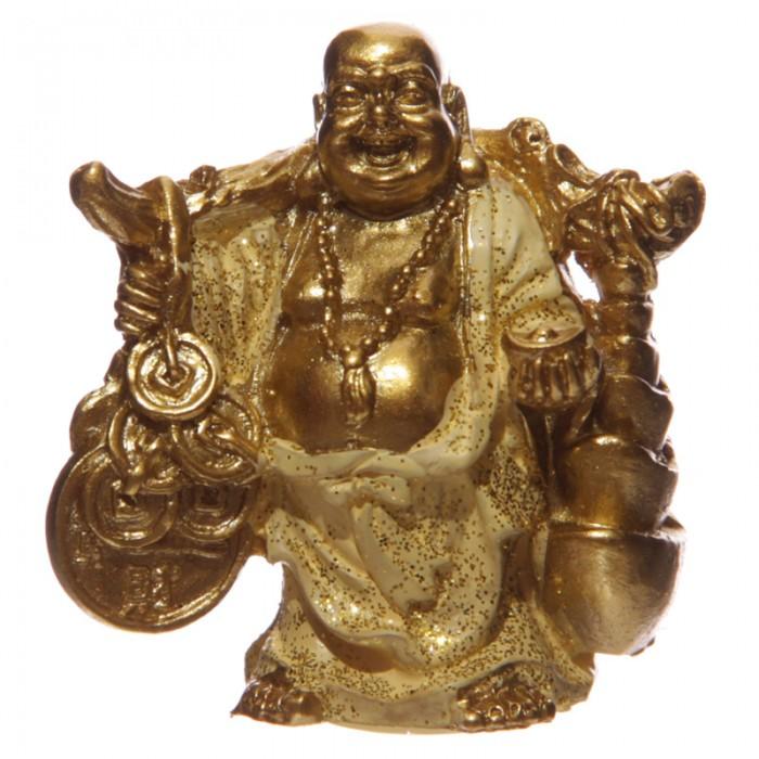 figurine bouddha porte bonheur jaune c statuettes et figurines bouddhas arc en ciel. Black Bedroom Furniture Sets. Home Design Ideas