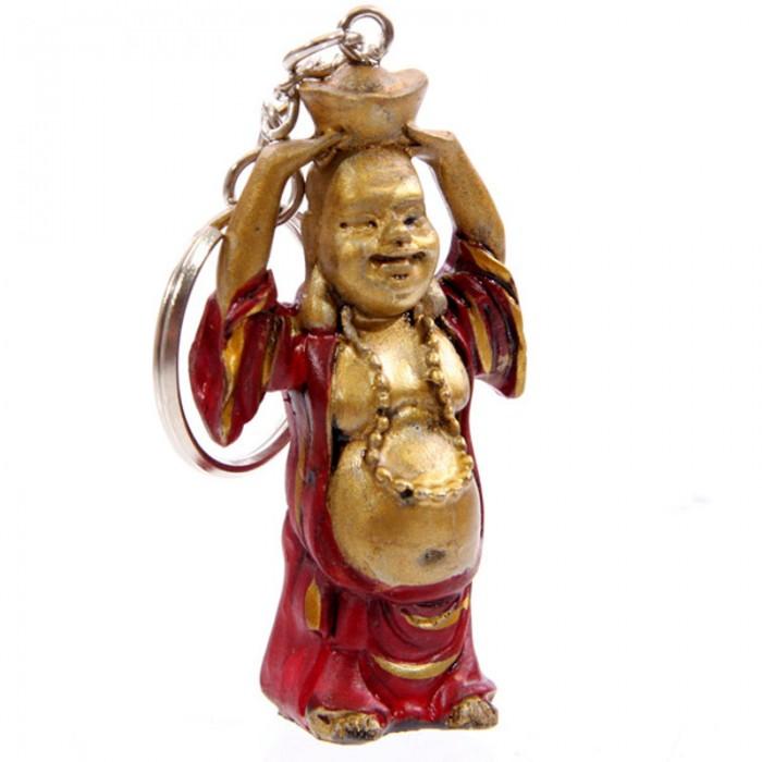 Porte-clefs Bouddha souriant (A)