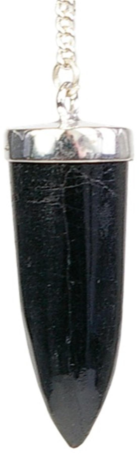 Pendule Tourmaline noire, pointe