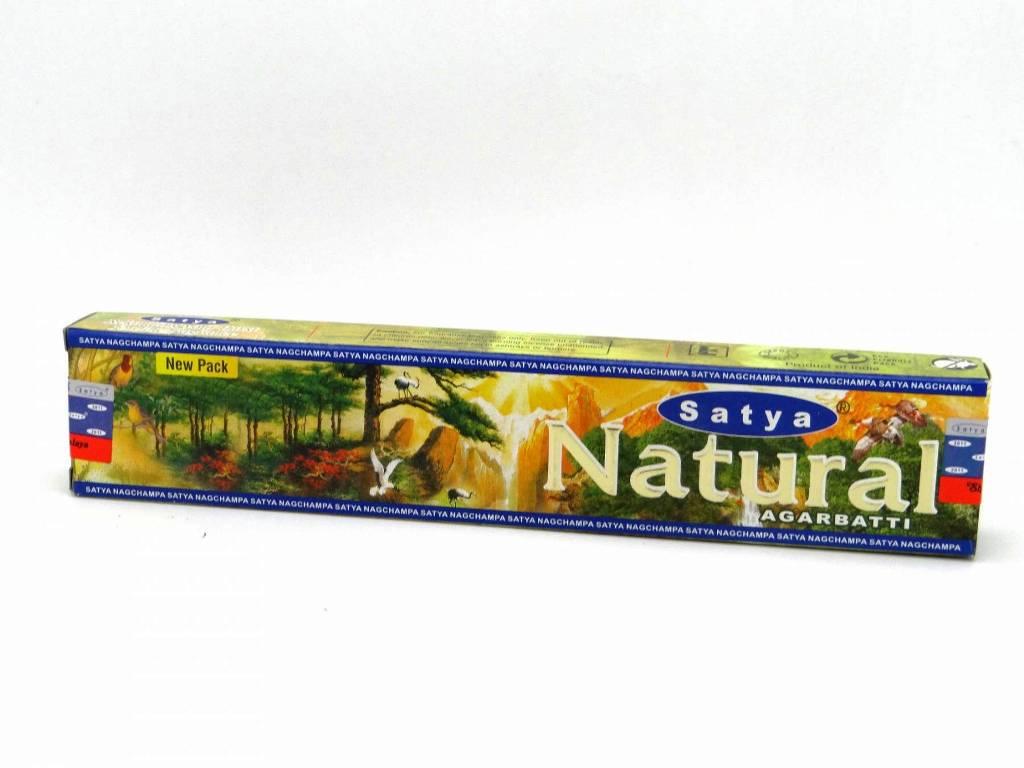 Encens Satya - Natural - Agarbatti 15g
