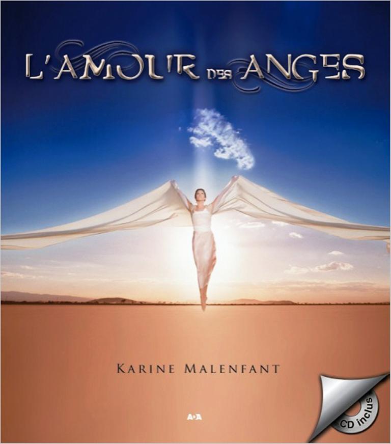 L\' amour des anges - livre + CD