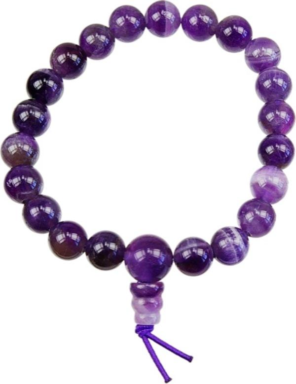 Bracelet mala - Améthyste