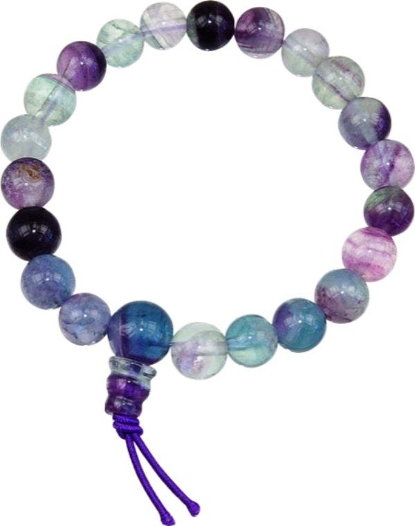 Bracelet mala - Fluorite