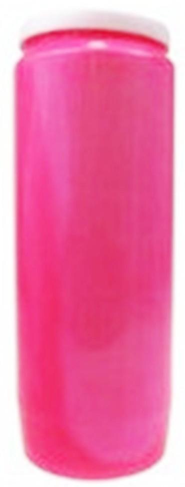 Bougie de Neuvaine (Rose)
