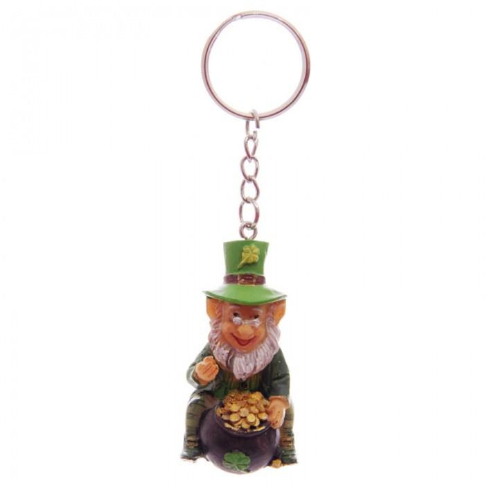 Porte-clés Léprechaun Lutin Irlandais ( F )
