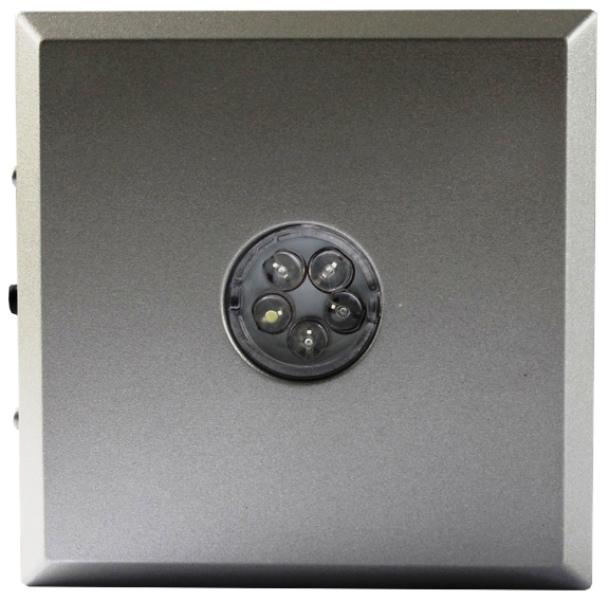 Support LED pour cristal ( couleur argent )
