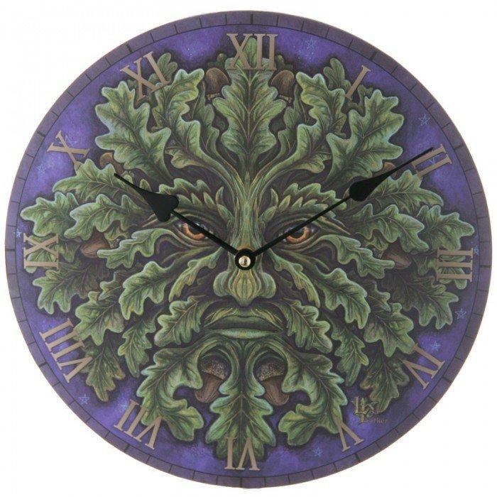Horloge Ronde - L\'Esprit de la Forêt ( Lisa Parker )