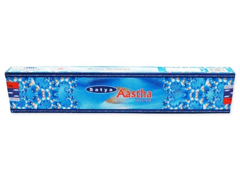 Encens Satya - Aastha- Bleu clair 15g
