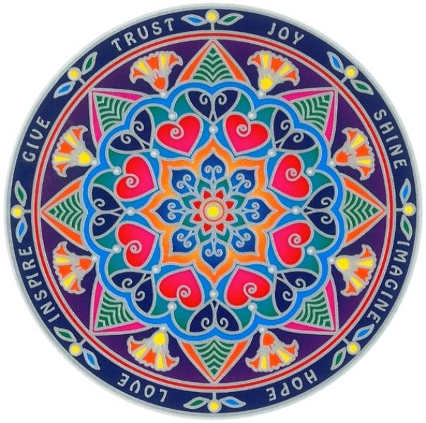 Autocollant Attrape Soleil - Mandala d\'Inspiration