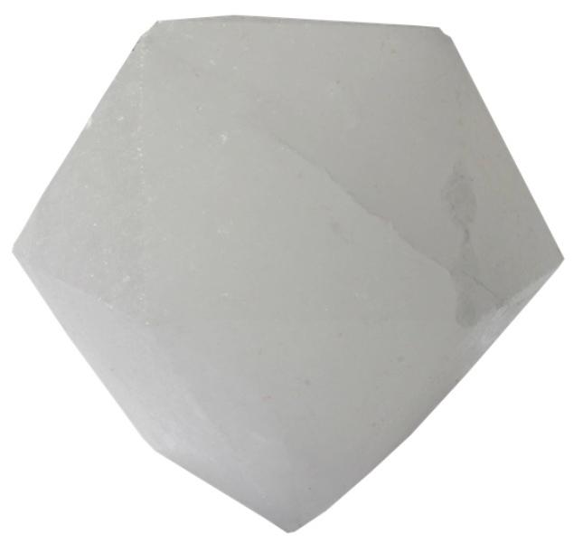 Lampe en Cristal de Sel - Diamant blanc (  LED )