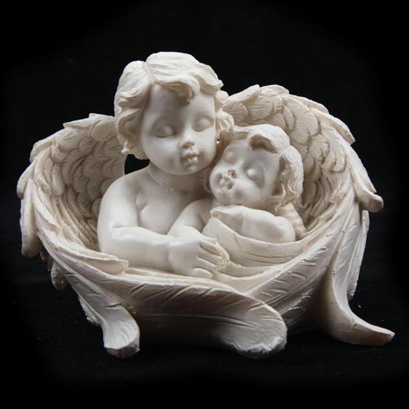 Couple de Chérubins dans ailes (B)
