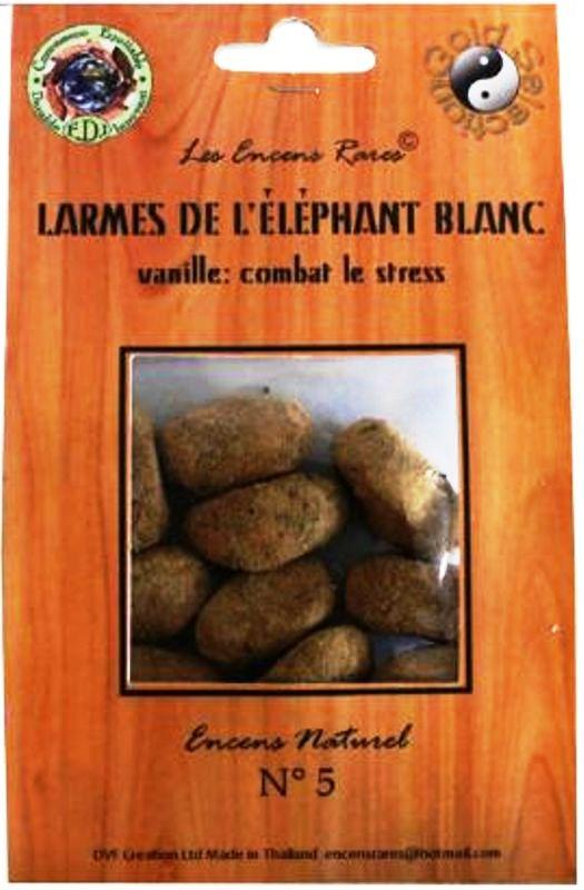 Larmes de l\'Éléphant Blanc - Anti stress - (Encens rares 25gr)