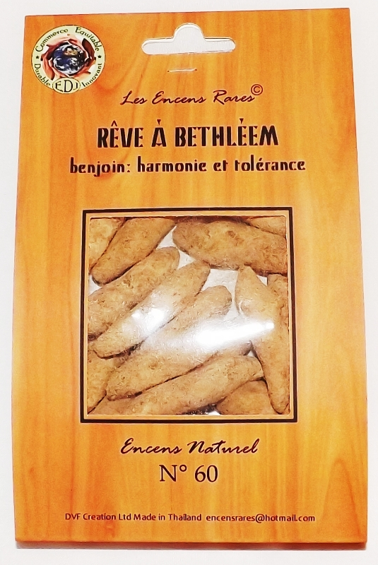 Rêve Bethéem - Harmonie et Tolérance - (Encens rares 25gr)