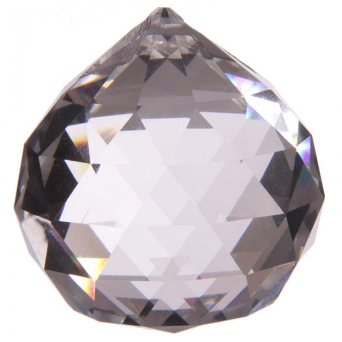 Boule de Cristal à Facettes ( 6 cm )