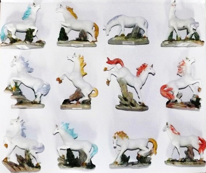 Licornes Figurines Monde  Magiques ( Lot 12 )
