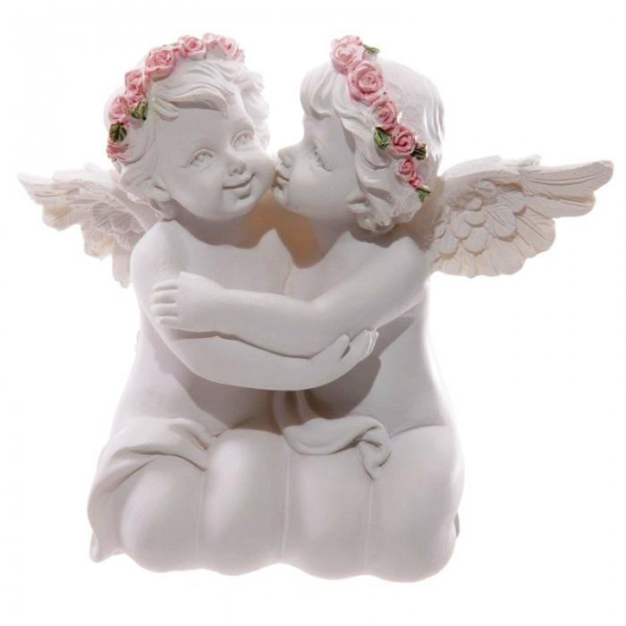 Chérubins - Couple avec roses