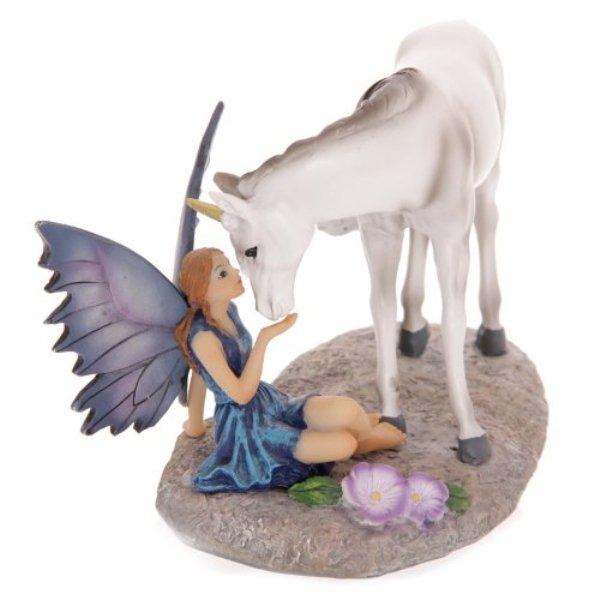 Contes de fées Lisa Parker Fée avec licorne
