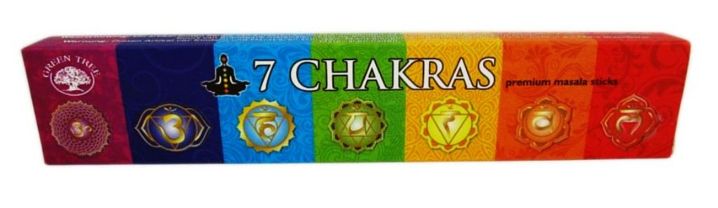 Encens Green Tree - 7 Chakras - 15g
